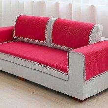 Stil der Garten Sofakissen/ vier Jahreszeiten Wohnzimmer Sofa Handtuch/ Sofa/ einfache und moderne Sofa abdecken-B 90x210cm(35x83inch)