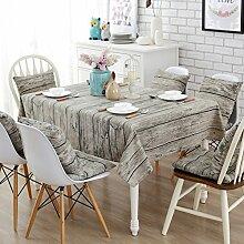 Stoff baumwolle leinen garten frische tee tisch stoff,tisch tuch mit rechteckigen tischtuch-E 43x43cm(17x17inch)