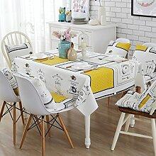 Stoff baumwolle leinen garten frische tee tisch stoff,tisch tuch mit rechteckigen tischtuch-A 43x43cm(17x17inch)