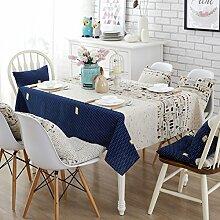 Stoff baumwolle leinen garten frische tee tisch stoff,tisch tuch mit rechteckigen tischtuch-D 45x45cm(18x18inch)