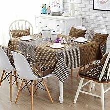 Stoff baumwolle leinen garten frische tee tisch stoff,tisch tuch mit rechteckigen tischtuch-F 140x180cm(55x71inch)