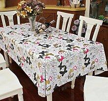 Tang Moine 3pcs Garten Schmetterlinge Nostalgie Elegant Haus Wasserdicht Staubdicht Tragen Große Tischdecken,137cm*250cm