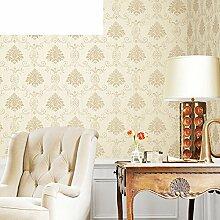 Tapete/Französischen Garten Tapeten/Non-Woven Green Pearl Wallpaper/für die Schlafzimmer Wohnzimmer Tapete/Hintergrund Tapete