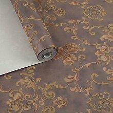 Tapete/French rose Garten Tapete/Wohnzimmer Schlafzimmerwände/Vlies-Tapeten-D