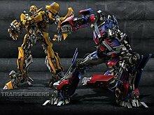 Transformers 19x14 inch / 47x35 cm Plastic Poster Kunststoff Plakat Wasserdicht | Anti-Fade | Kann auf den Außenbereich/Garten/Badezimmer CTJ-6CA9/3C48