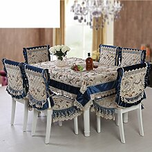 TRE Tischdecken/Spitzen Tischdecke und gehobenen Tischdecke/[High-End-europäischen Stil Tapete]-B 110x160cm(43x63inch)