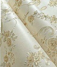 wallpaper/3d Anaglyphen Stereo-Garten Tapete/Warme Schlafzimmer Wohnzimmer Tapete/Speisesaal voller Vliestapete-A