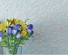 wallpaper/3D Skulptur Garten Tapete/Vliestapete Wohnzimmer Schlafzimmer-A