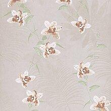 wallpaper/Garten Blumen Bett Restaurant Hintergrund/Vliestapete-D