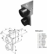 Wand-Türstopper Typ 40 Industrie