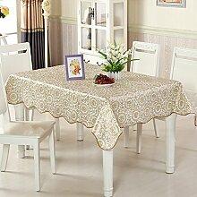 wasserdichte Tapete/Tischdecken/Round Table/Anti-Heißöl und Einweg-Tischdecken/PVCPlastiktisch Mat-F 152x152cm(60x60inch)
