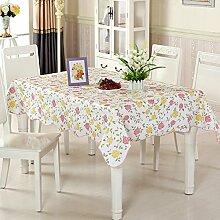wasserdichte Tapete/Tischdecken/Round Table/Anti-Heißöl und Einweg-Tischdecken/PVCPlastiktisch Mat-A 137x183cm(54x72inch)