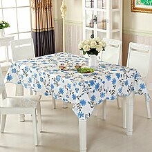 wasserdichte Tapete/Tischdecken/Round Table/Anti-Heißöl und Einweg-Tischdecken/PVCPlastiktisch Mat-B 106x152cm(42x60inch)