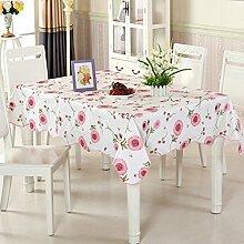wasserdichte Tapete/Tischdecken/Round Table/Anti-Heißöl und Einweg-Tischdecken/PVCPlastiktisch Mat-E 152x152cm(60x60inch)