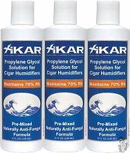 Xikar Luftbefeuchter 814x i PG Lösung 8Oz Humidor Lösung Flasche Verwendung jedes Mal Formel 3Pack