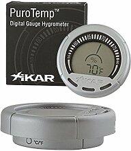 Xikar präzises Digital Hygrometer GAUGE inkl. Lifestyle-Ambiente Tastingbogen