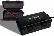 Xikar Reisehumidor 10 Zigarren inkl. Lifestyle-Ambiente Tastingbogen