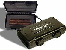 Xikar Reisehumidor 5 Zigarren inkl. Lifestyle-Ambiente Tastingbogen