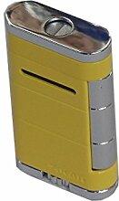 XIKAR - Zigarrenfeuerzeug, Zigarrenbrenner - Gelb humidor