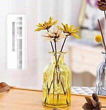XPHOPOQ Landhausstil künstliche Blumen getrocknete Blumen Home Außenpool Garten Dekoration H