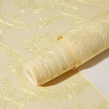 ZPXLGW 3D-Perspektive Europäische Sliver Streifen Non Woven Tapete Für Wohnzimmer Schlafzimmer 20.8 In * 32.8 Ft = 57 Sq.ft,5