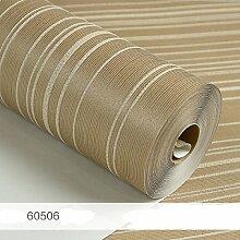 ZPXLGW Streifen Tapete Wohnzimmer 3d Relief Vliesstoffe Tapeten Schlafzimmer Einfach Und Modern Schlicht Tapete,60507