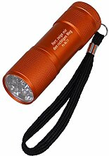 °° LED-Taschenlampe (orange)