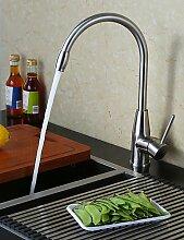 *-* 0.5 Küchenarmatur zeitgenössische pre Spülen aus Edelstahl gebürste