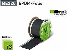(1,70€/mtr.) ME220 EPDM-Folie Außen mit Selbstklebesteifen 100mm x 0,75mm 25m-Rolle