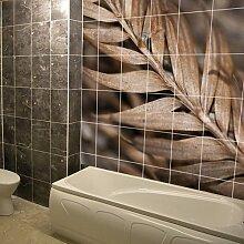 (150x 150cm) Personalisierte Wasserdicht Tile Badezimmer Wandsticker Druck/Bad Foto, Foto Dekor Aufkleber/bedruckbar glänzend, matt Schild selbstklebend personalisierte