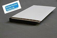 (16,20 €/m) Rollladenkastendeckel weiß RKD 220 mm, 1,00 mtr. lang, Rollodeckel, Rollladendeckel, Rollo
