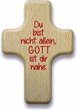 °°2566 Handkreuz aus Holz Handschmeichler (Du