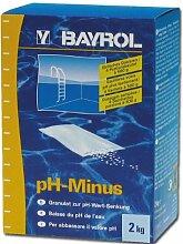 (3,50EUR/kg) pH Minus 2kg Pool Schwimmbad Pflege BAYROL Poolreiniger 722