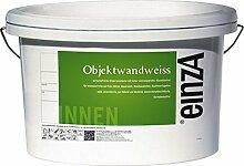 (3,52 €/ Liter) einzA Objektwandweiß Innenfarbe Wandfarbe 12,5 Liter