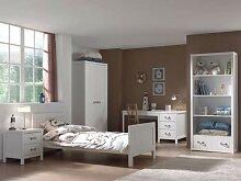 'Autobett Lewis Waschtisch Zimmer-Holz weiß