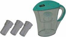 'Medicura' Wasserfilter, blau, Set mit 4 Kartuschen