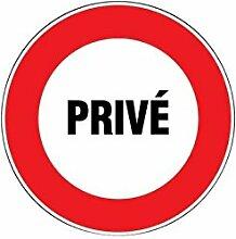 'Outifrance–Panneau de Signalisation Private