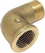 'RC Junter 88020Winkelstück 90° Buchse, 1/2, 2.5x 2.5x 2cm, gold