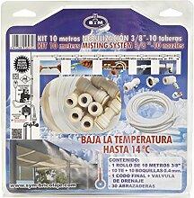 's & M 580758–Kit 10Meter sprengsystem 3Spritzen/Modern, 8x 28x 28cm, beige
