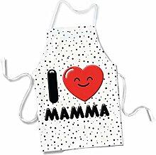 'Schürze Geschenkidee Muttertag Ti Amo Mutter