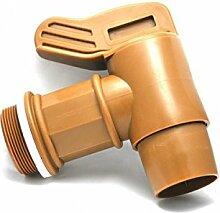 'scopenext–Wasserhahn Stecker, 2BSP Ausgang Ø50mm Farbe Gold