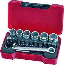 'Tengtools T1419 Mini-Becher Set 1/4 19-teilig