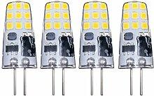 [4 Stücke] Klein G4 LED Glühbirnen Lampe 3W