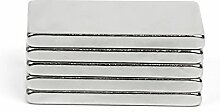 (5Stück) starker Block Bar Neodym 20mm x 6mm x 1,5mm, die Neo DIY Craft Starke Rare Earth NdFeB Magnete