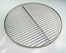 Ø 54,5 cm Edelstahl Grillrost ! Stab zu Stab nur 12 mm ! für Kugelgrill 55 56 57 Weber geeignet, 4mm Stabdurchmesser Grill, Rost, Rundgrill, rund