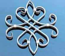 #554 NEU! Schmiedeeisen Ornament Gitter Fenstergitter Stahl Eisen geschmiede