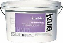 (6,47 € / Liter) einzA Samtlatex Wandfarbe Innenfarbe 12,5 Liter