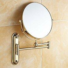 [Antike Make-up Spiegel]/Badezimmer Badezimmerspiegel/Faltung Teleskop Wandspiegel