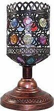 & AOGUD @ - Europäische kreative Retro-Lampe Schlafzimmer Nachttisch Lampe Dekoration Bar warme Hochzeit Tischlampe