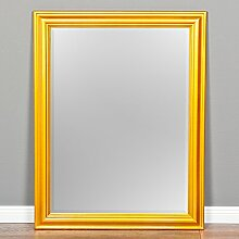 *B-Ware* Wandspiegel ONDA 90x70cm Glanz Gold